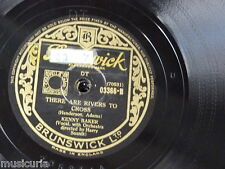 78rpm KENNY BAKER there are rivers to cross / always in my heart