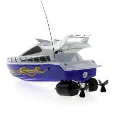 Mini Radio Remote Control RC Speed Boat Electric Toy Ship Simulation Model Gift
