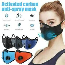Reusable & Washable Face Mask -  Activated Carbon Respirator With filter KIN