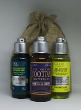 NEW L'Occitane Men's Cedrat, L'Homme & L'Occitan Shower gel gift bag