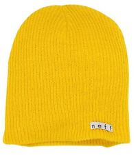 NEFF Men's Daily Beanie Winter Knit Hat MUSTARD YELLOW GOLD One Size NEW