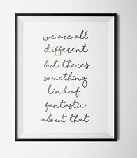 Roald Dahl Quote A4 Print Wall Art-NURSERY WALL ART-CHRISTENING GIFT