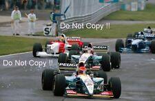 Eddie Irvine & Rubens Barrichello Jordan 195 Canadian Grand Prix 1995 Photograph