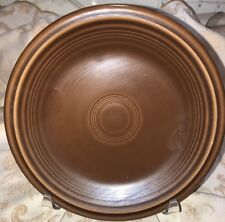 """Fiesta SIDE SALAD PLATE - 7 1/4""""  - New Never Used - Retired color - CHOCOLATE"""