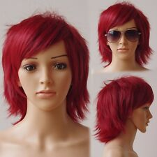 Multicolor Cosplay Wig Hot Super Fashion Costume Anime Layer Straight Full Wig s