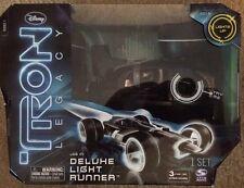 Disney Tron Legacy Deluxe Light Runner Spin Master 2010 New!