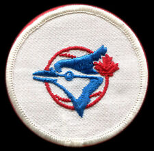 "1970'S TORONTO BLUE JAYS MLB BASEBALL 3"" ROUND TEAM PATCH VERSION 1"
