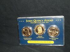 2008 Presidential gold dollar coin set John Quincy Adams (S proof) (D P uncir)