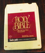 Statler Brothers  Holy Bible - Old and New Testament 8 Track Cartridge Tape (RP)