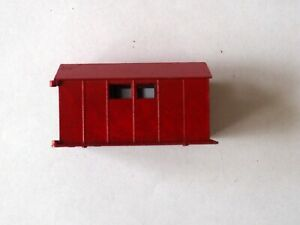 "Small toy garage one door missing 2 3/4"" x 1 1/2"" x 1 1/2"""