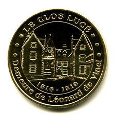 37 AMBOISE Le Clos Lucé, Demeure de Léonard de Vinci, 2013, Monnaie de Paris