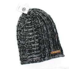 NWT Neff Headwear James Black Twill Beanie