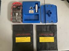 Rc Stand Two Lipo Bag Tool Set Remote Control Traxxas Losi Hpi Axial