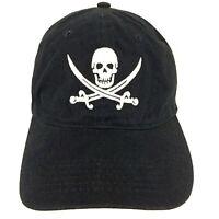 Pirate Skull Crossed Swords Cap Jolly Roger Logo Ship Boat Baseball Trucker Hat
