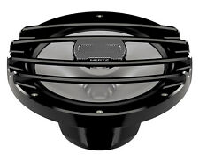 "NEW PAIR HERTZ HMX 8 S-LD POWERSPORTS MARINE 8"" BLACK SPEAKERS W/ RGB LED LIGHTS"