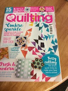 Love Patchwork and Quilting Magazine Issue 96 Magazine Only