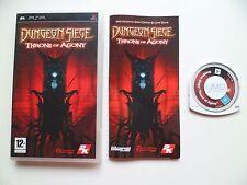Dungeon Siege: trono de agonía (Sony PSP, probado 2007)