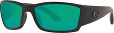 New Costa Del Mar Corbina Sunglasses Blackout Green Mirror Polarized Glass 580G