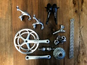 Campagnolo Record 10 speed groupset group set  titanium 53 39 172.5