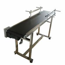 "Transporation Equipment! 59""*11.8"" Flat Conveyor Machine Speed Control Us"