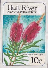 HR1/6) Hutt River Province 1986 Australian Wildflowers Original Artwork