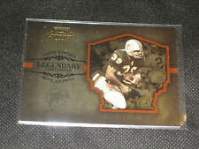 LARRY CSONKA DOLPHINS LEGEND GENUINE AUTHENTIC LIMITED ED. FOOTBALL CARD /2000