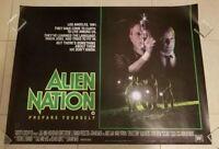 Alien Nation movie poster - James Caan, Mandy Patinkin