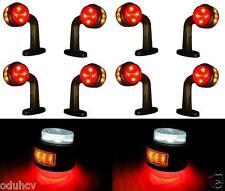 4 pairs LED SIDE OUTLINE 24V MARKER LIGHTS TRUCK CHASSIS TRAILER CARAVAN TRACTOR