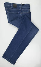 New. Z ZEGNA Blue Cotton Blend Denim Regular Fit Jeans Pants Size 35 $245