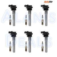Set of (6) Richporter Ignition Coils +  (6) Autolite Iridium XP5263 Spark Plugs