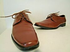 Joseph Abboud Mens Lace Up Oxford Dress Casual Shoes Brown Size 11 W