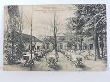 GERMANY VARIER WALD GARTENPARTIE BEI DER DEUTSCHEN EICHE 1910 POSTCARD