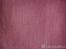 0,5 m Stoff Leinen schwer rosa dunkelrosa beere schöne Qualität 260 g/m2 Vorhang