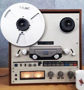 Teac X-10R Vintage Reel To Reel Tape Deck Recorder!