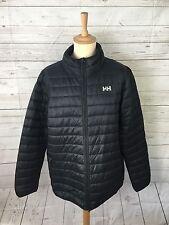 Men's Helly Hansen Puffa/Quilted Jacket - XXL - Black - Great Condition