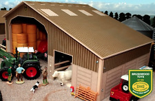BRUSHWOOD TOYS BRUSHWOOD BASICS TWO BAY SHED 1:32 SCALE BB9100