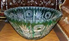 Bellissimo vaso centrotavola in cristallo