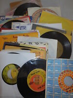 Lot of (42) VG+ 45 rpm records  Misc Genre All Listed '60s '70s