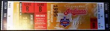 1995 MLB A.L. Division Series GAME 2 TICKET Boston Red Sox Cleveland Indians