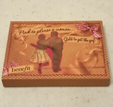 "BENEFIT ""Pink to please a woman...Gold to get the guy"" eye-shadow+lip cream BNIB"