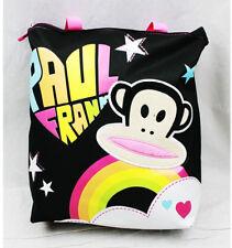 Tote Bag - Paul Frank - Black Rainbow Logo New Gifts Girls Hand Purse 82104