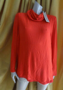 (FEB215) BNWT £55 Size 16 *PHASE EIGHT* Chic long red cowl-neck jumper