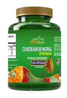 CUNDEAMOR NOPAL Bitter Melon Diabetic Sugar Balance Dietary Supplement 120