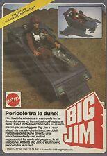 X1018 BIG JIM - Pericolo tra le dune! - Mattel - Pubblicità 1986 - Advertising