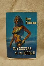 WINTER OF THE WORLD by Poul Anderson 1975 1st Ed BOOK SFBC DJ SIGNED VERY RARE