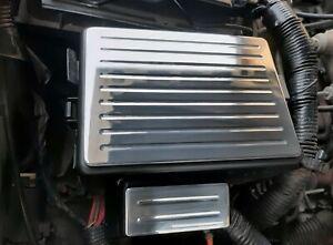 95-98 Chevy Silverado, GMC Sierra billet engine fuse cover plates