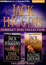 Jack Higgins CD Collection 2: Dark Justice, The Killing Ground