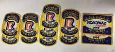 Roadway Express P&D Safety Patches-National Champions Lot (11 patches)