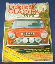 PRACTICAL CLASSICS & CAR RESTORER MARCH 1989 - MINI & MINI COOPER SUPPLEMENT