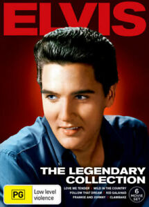 ELVIS Presley: The Legendary Collection DVD 6-MOVIES MUSIC MUSICALS BRAND NEW R4